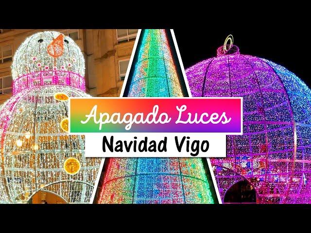 Apagado de las Luces de Navidad Vigo 2020-2021 😭🎄