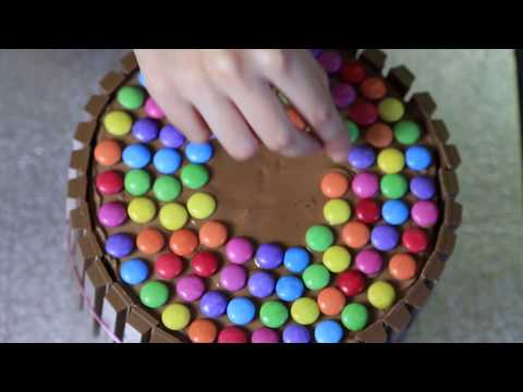 [-gâteau-]-:-gâteau-chocolat-kit-kat