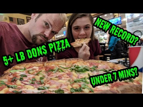 5+ lb THE DONS PIZZA CHALLENGE| NEW RECORD| TENNESSEE TRIP PT 1