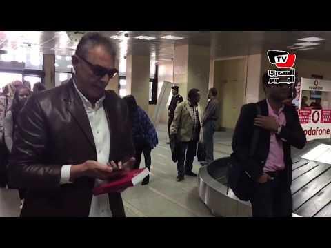 لحظة وصول كبار الفنانين لحضور افتتاح مهرجان الأقصر للسينما الأفريقية  - 13:22-2018 / 3 / 16