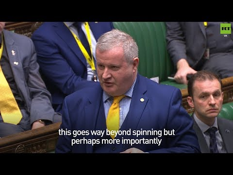 Ian Blackford clarifies why he called Theresa May a liar