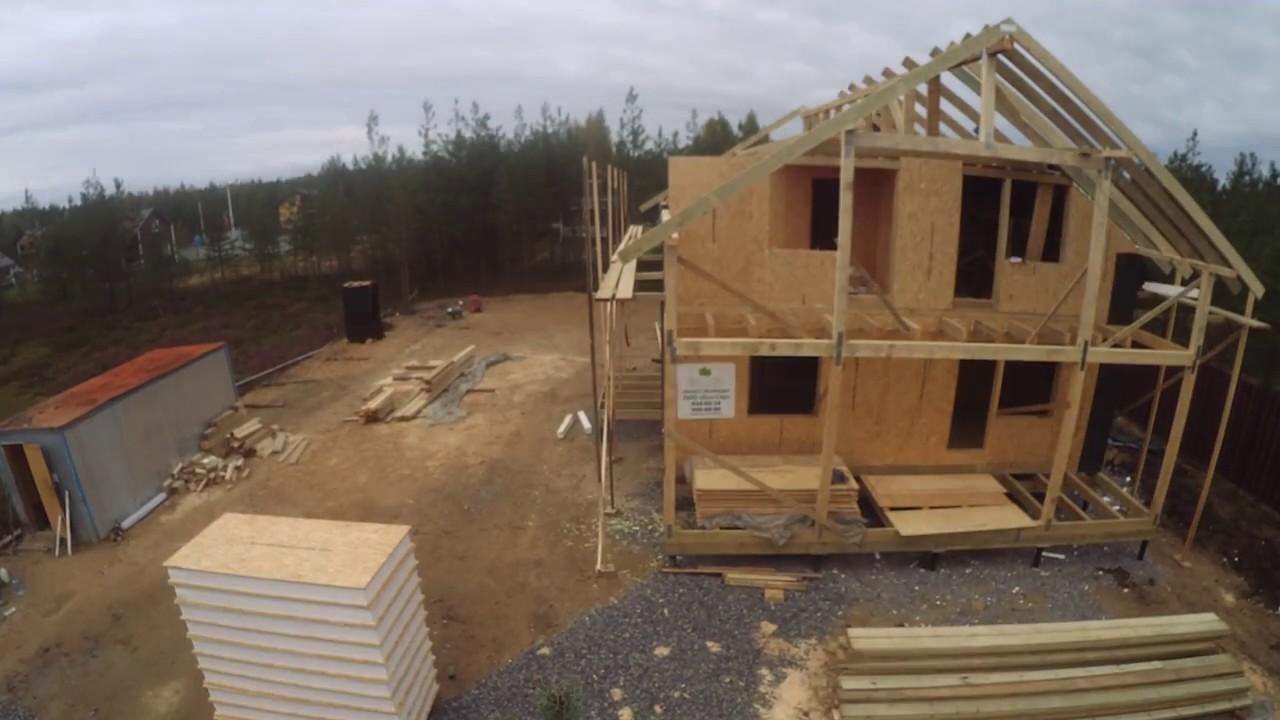 Costruzione di una casa prefabricata sip house youtube - Costruzione di una casa ...