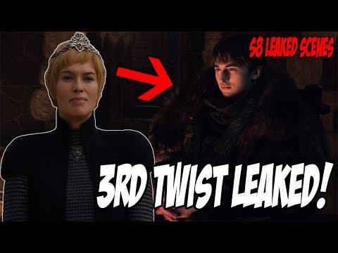3rd Shocking Twist LEAKED! Game Of Thrones Season 8 (Leaked Scenes)