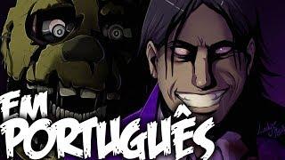 A Confissão de William Afton (Purple Guy) - Five Nights at Freddy's