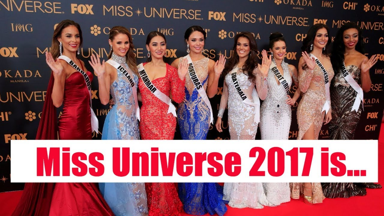 miss universe 2017 the winner is youtube