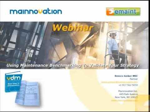 Using Maintenance Benchmarking to Validate Your Strategy with Remco Jonker
