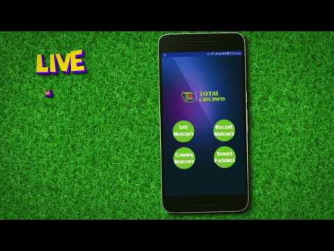 Best Cricket App - Total Cricinfo - Live Cricket Scores- Ball by Ball With Commentary