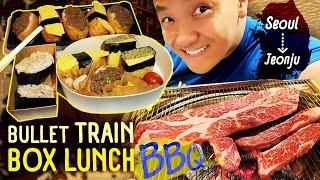 Baixar Korean BBQ BREAKFAST & BULLET TRAIN Box Lunch Seoul to Jeonju South Korea