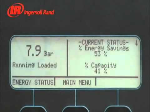ingersoll rand intellisys controller for oil free rotary screw air rh youtube com ir intellisys controller manual intellisys controller manual 39188768