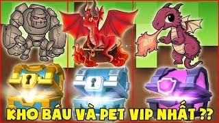 Kho Báu Và Pet Vip Nhất Mini World ??