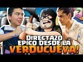 SUBIENDO COPIAS CON CUENTA MAX EN LA VERDUCUEVA CON ROCKSTAR!! | CLASH ROYALE