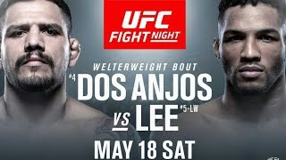 [ LIVE ] UFC FIGHT NIGHT ROCHESTER: DOS ANJOS VS LEE
