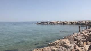 Испания!!! Пляж 🏖 Барселоны!!
