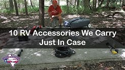 RV Tips: 10 Things We Carry Just In Case | RV Texas