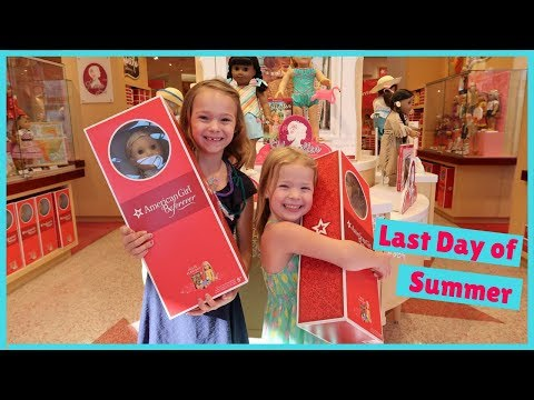 Thumbnail: Last Day of Summer at the American Girl Store!