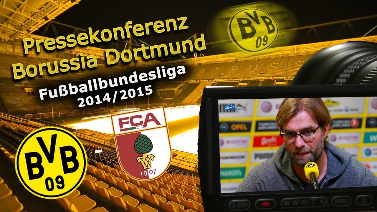 Borussia Dortmund - FC Augsburg : Bundesliga-Pk Jürgen Klopp