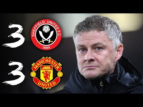 COMPLETE MADNESS | SHEFFIELD UTD 3-3 MAN UTD
