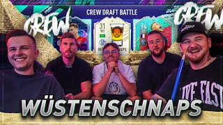 CREW WÜSTENSCHNAPS FIFA DRAFT BATTLE 😱 vs Gamerbrother Tisi Schubech Nohandgaming 🔥