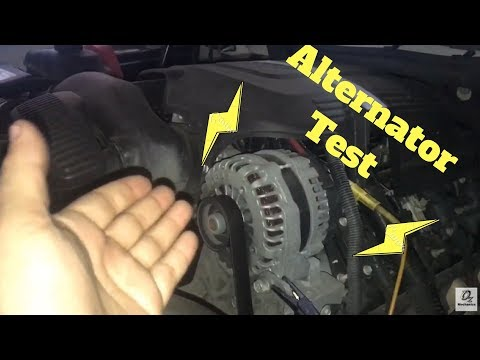 Quick Alternator Ripple Test. Lights Flicker