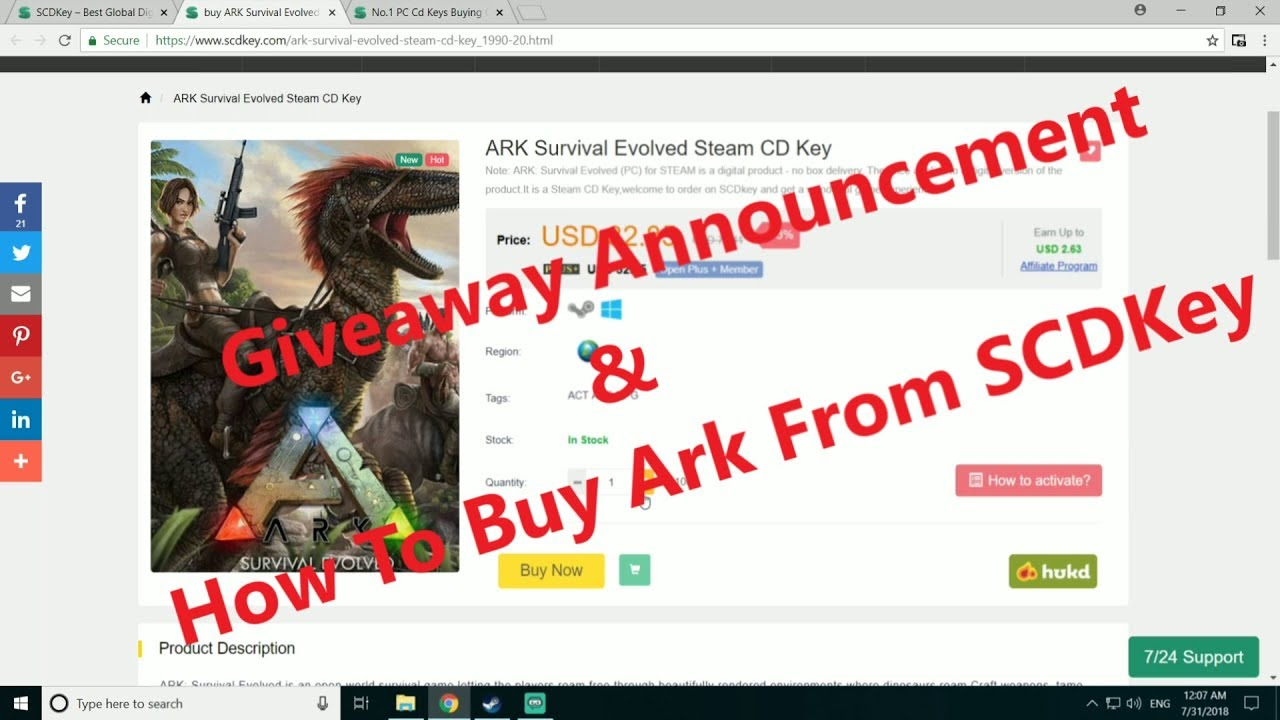 ark survival evolved cd key free