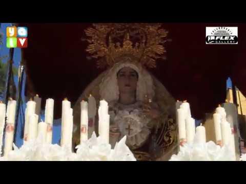 Salida MarÍa SantÍsima de la Alegria Semana Santa Algeciras 2019 Domingo de Ramos