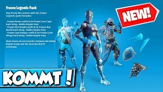 ❌NEUES FROZEN-BUNDLE in FORTNITE BALD!! 😱 - NEW WINTER SKINS in THE BUNDLE in FORTNITE!!