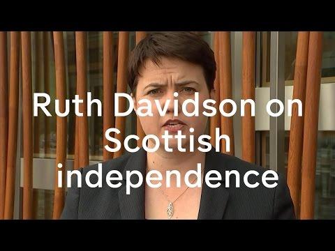 Leader of the Scottish Conservatives Ruth Davidson MP
