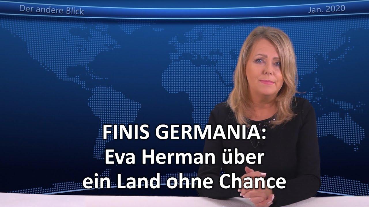FINIS GERMANIA: Eva Herman über ein Land ohne Chance - YouTube