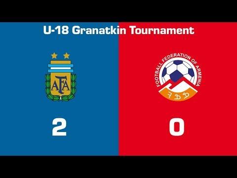 Argentina U18 - Armenia U18 2:0, Granatkin Memorial