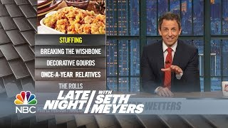 Ya Burnt: Gravy, Once-A-Year Relatives - Late Night with Seth Meyers