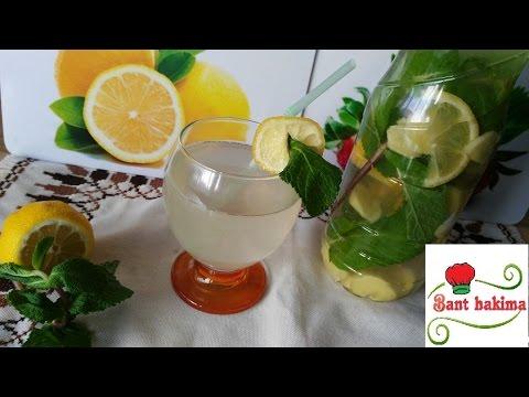 مشروبات الديتوكس: مشروب الليمون و الزنجبيل و النعناع للتخلص من الكرش و تنقية الجسم من السموم thumbnail