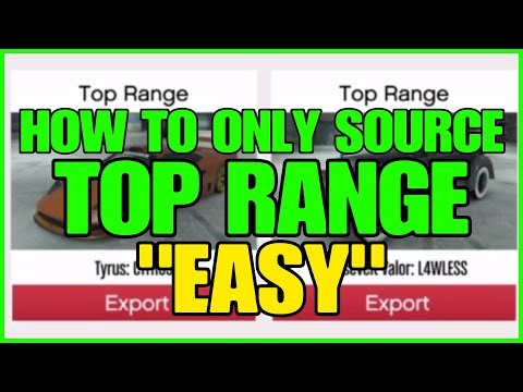GTA ONLINE - HOW TO ONLY SOURCE TOP RANGE CARS FOR IMPORT EXPORT