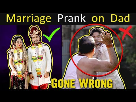 MARRIAGE PRANK ON DAD | GONE WRONG BADLY | Public Reaction | YoutubeWale Prank