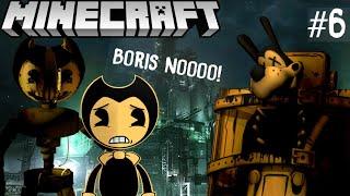 BENDY FINDS ROBOT BENDY! - Bendy Minecraft Adventures [6]