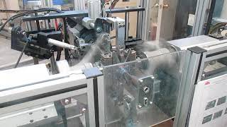Skew armature winder in motor manufacturer production process Wind Automation