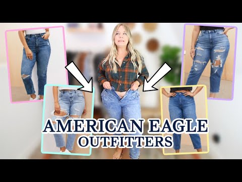 I Tried Every American Eagle MOM JEAN So You Don't Have To