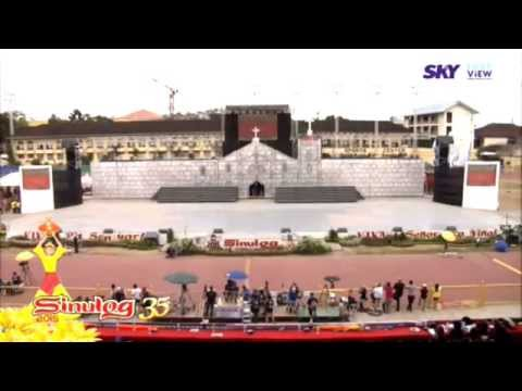 Roland 'Bunot' Abante sings 'All of Me' in Sinulog 2015