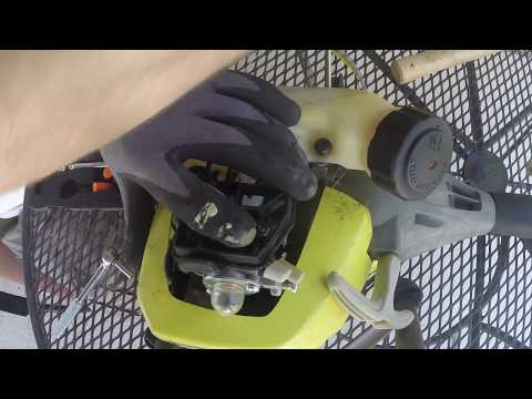 Ryobi C430 Weed Eater Won't Start Repair How To