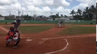 Juan Frias Of 2017 ShowCase 17-3-2017 Home Run LF