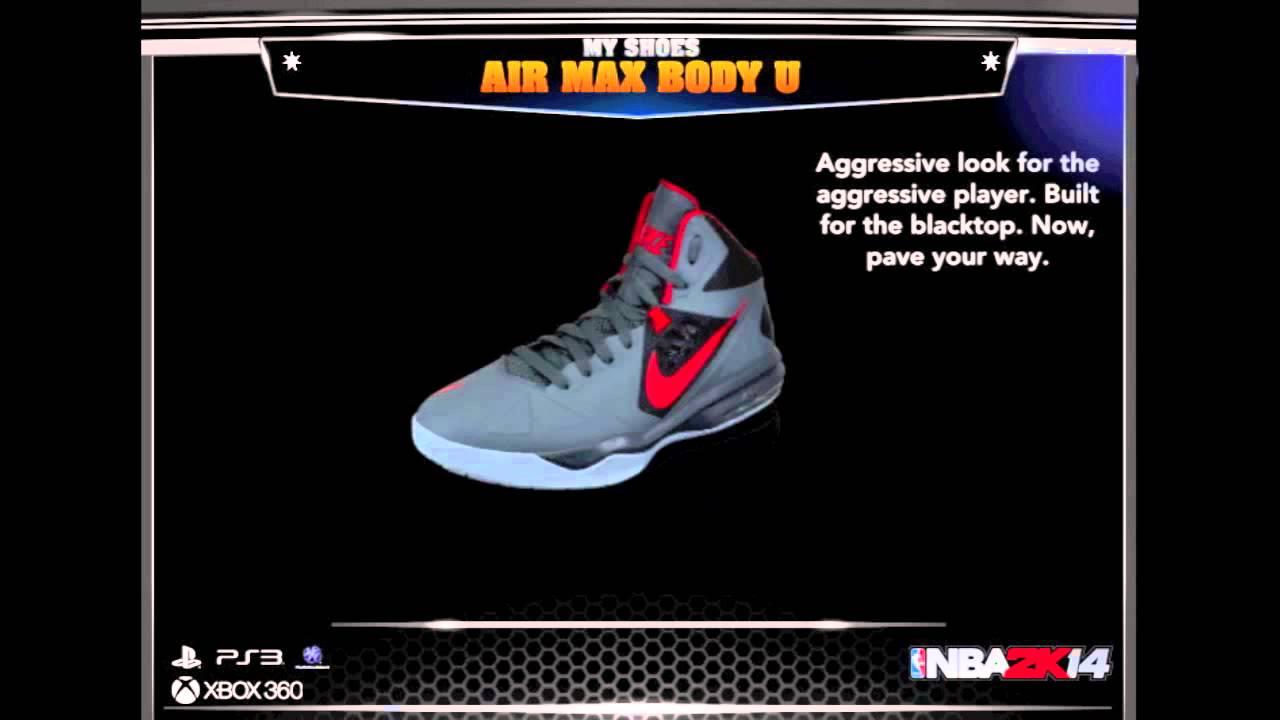 nba 2k14 reveals new sneaker lineup