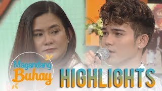 Magandang Buhay: Iñigo Pascual's touching message and promise to his momshie