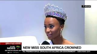 Zozibini Tunzi crowned Miss South Africa 2019