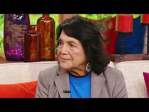 La historia de Dolores Huerta, activista en pro de inmigrantes