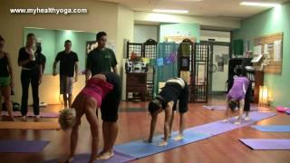 Handstands Masterclass, My Health Yoga Gold Coast May 14t 2011.