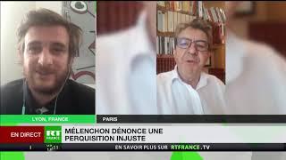 Perquisitions chez La France insoumise : «Une véritable agression politique»