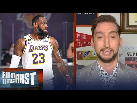 Lakers are gonna have trouble when LeBron's not on the floor — Nick Wright   FIRST THINGS FIRST