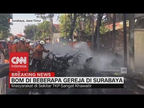 Bom di Gereja, Seluruh Gereja di Surabaya Ditutup