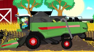 Farmers' adventures - Fairy tales Tractors, combine harvesters and other agricultural machinery .