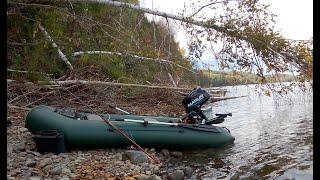 Рыбалка на ХАРИУСА началась с ТАЙМЕНЯ Ловля хариуса на реке в сентябре