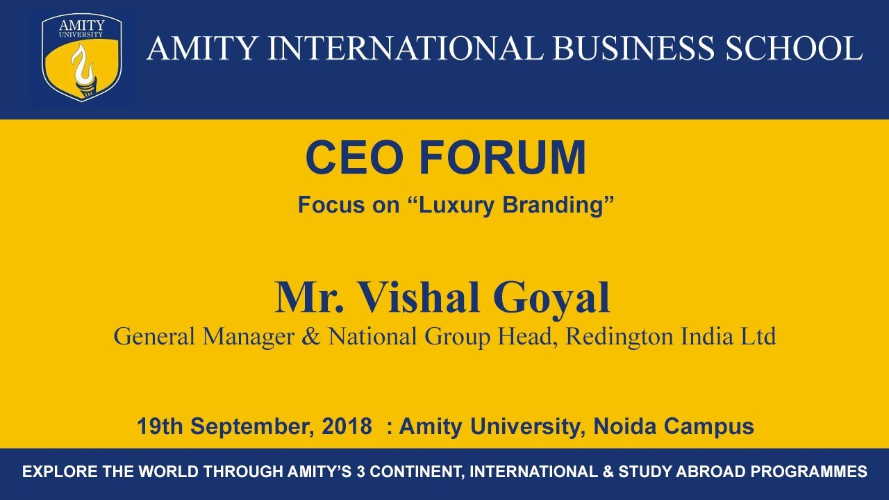 GM & National Group Head, Redington India Ltd - Mr  Vishal Goyal